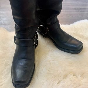 Frye Brand Harness Boots